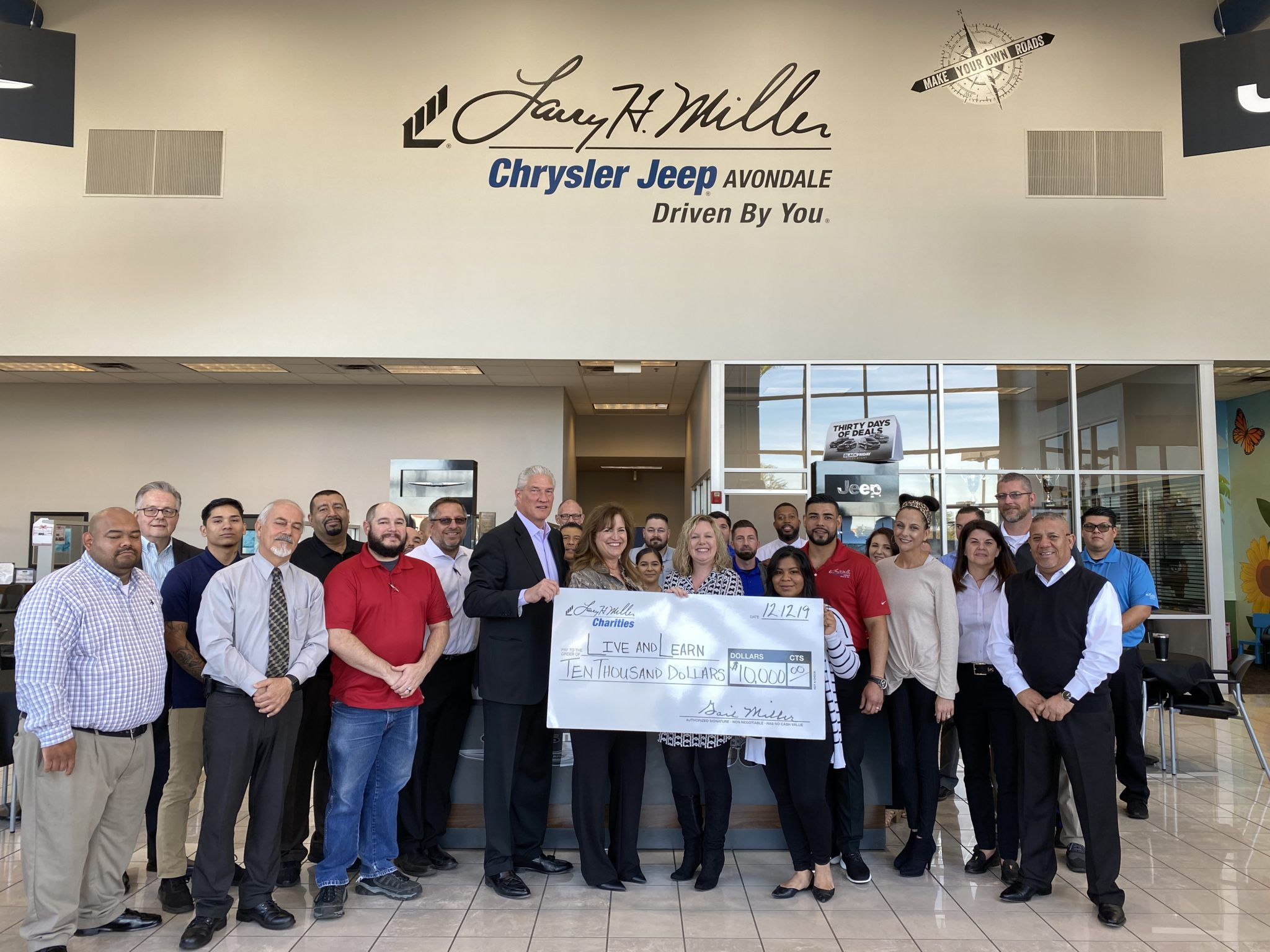 Larry H. Miller Dealerships Gives Hope in 2020  through Larry H. Miller Charities