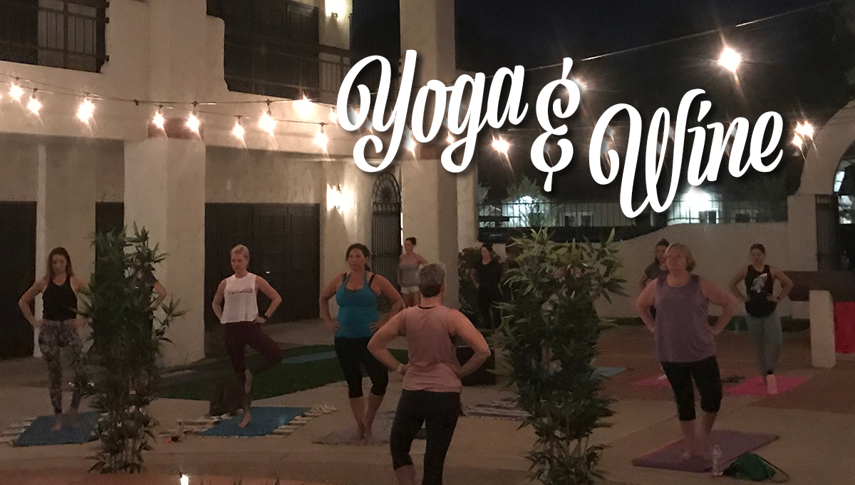 Yoga & Wine for a Cause