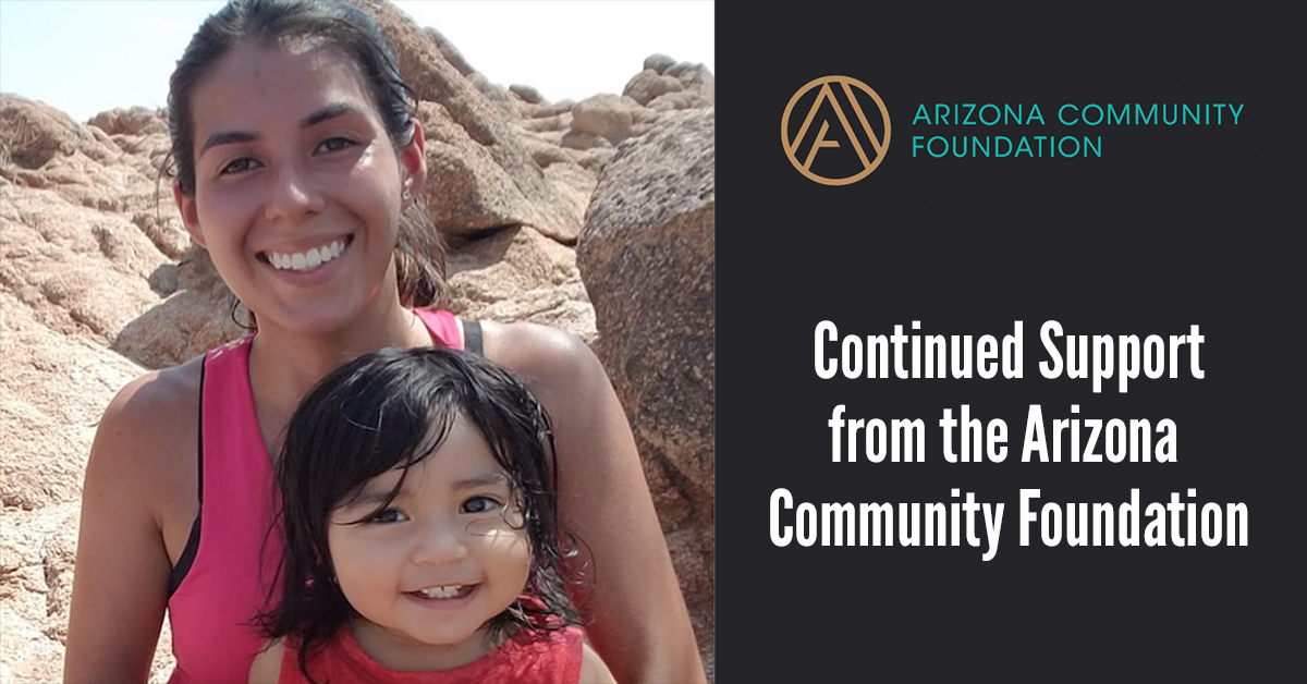 Continued Support from the Arizona Community Foundation