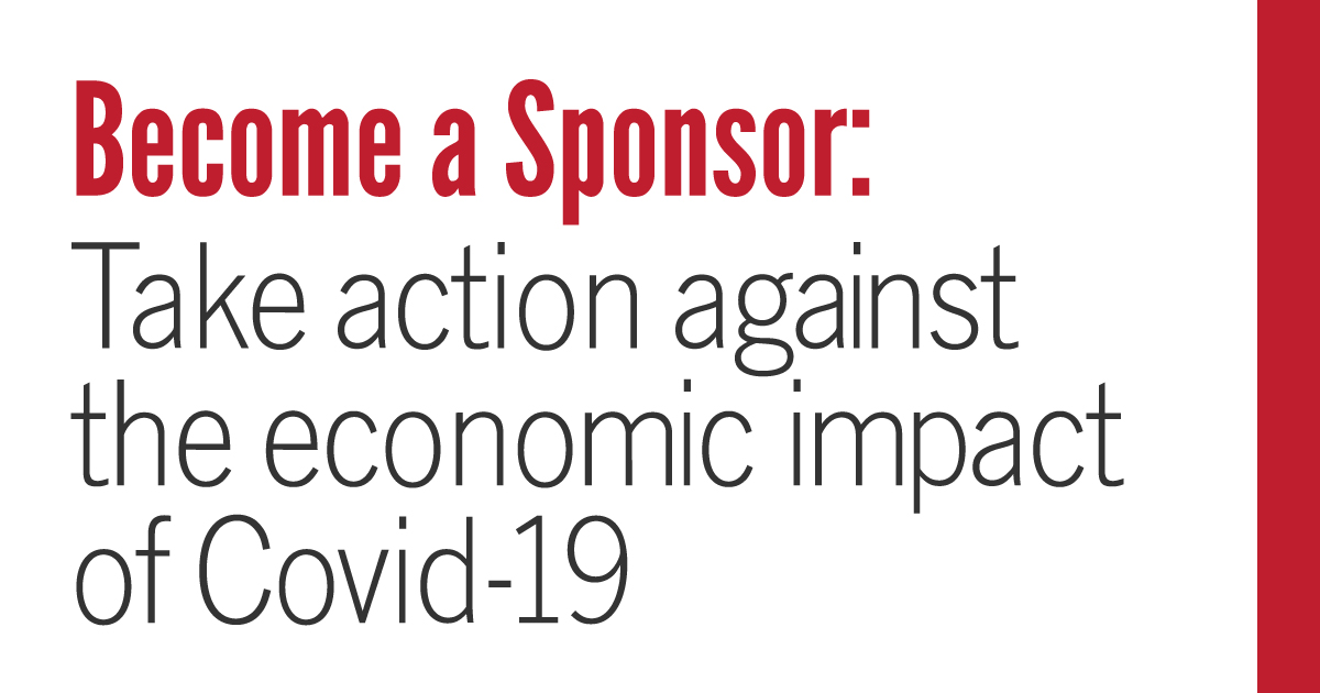 Become a Sponsor: Take action against the economic impact of Covid-19
