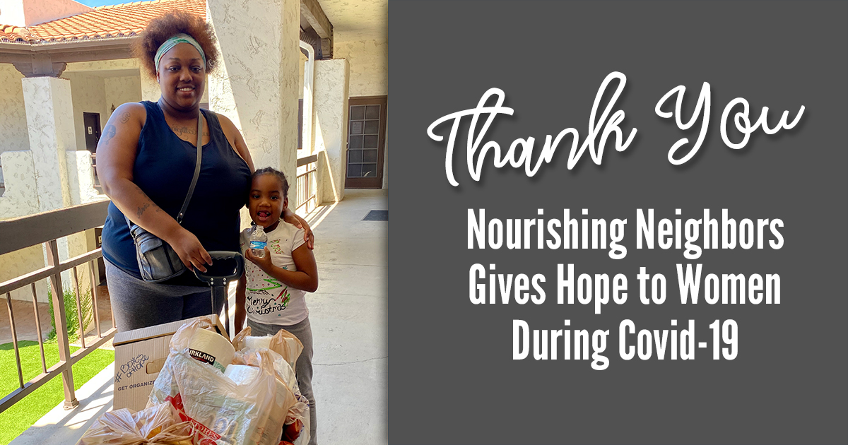 Nourishing Neighbors Gives Hope to Women During Covid-19